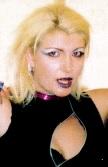 Close-up photo of vocalist Alison